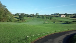 Worthington Manor 3rd hole