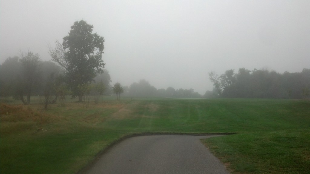 11th hole at Waverly Woods.  Waiting on the group in front of us.