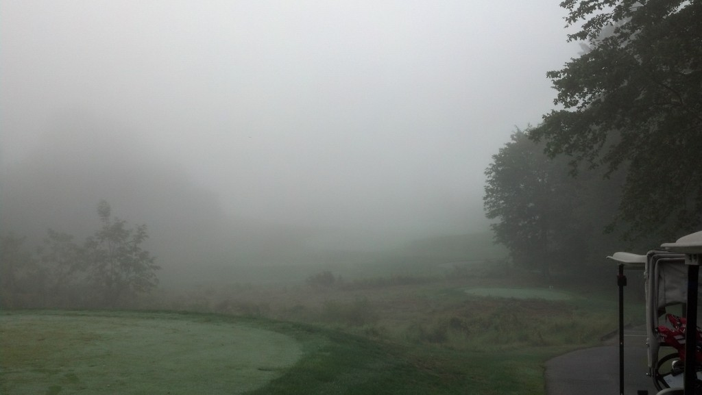 2nd hole at Waverly Woods.  I think.  It's out there somewhere.
