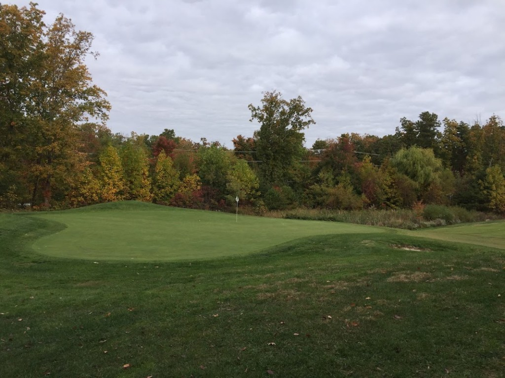 From the green at 18 (9th hole East).