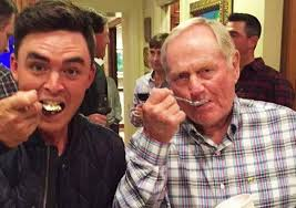 "That moment just before Nicklaus knocks the spoon out of Fowler's mouth and says ""ice cream is for closers, Rickie""."