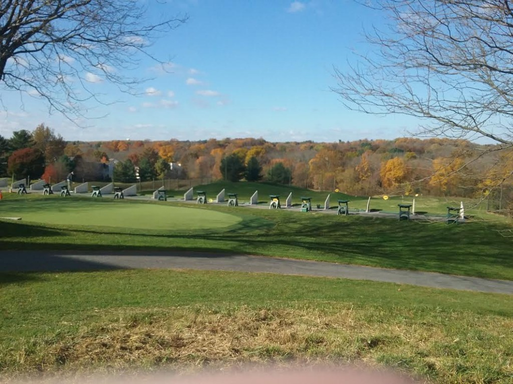 Wide Angle Photo of Fairway Hills Driving Range