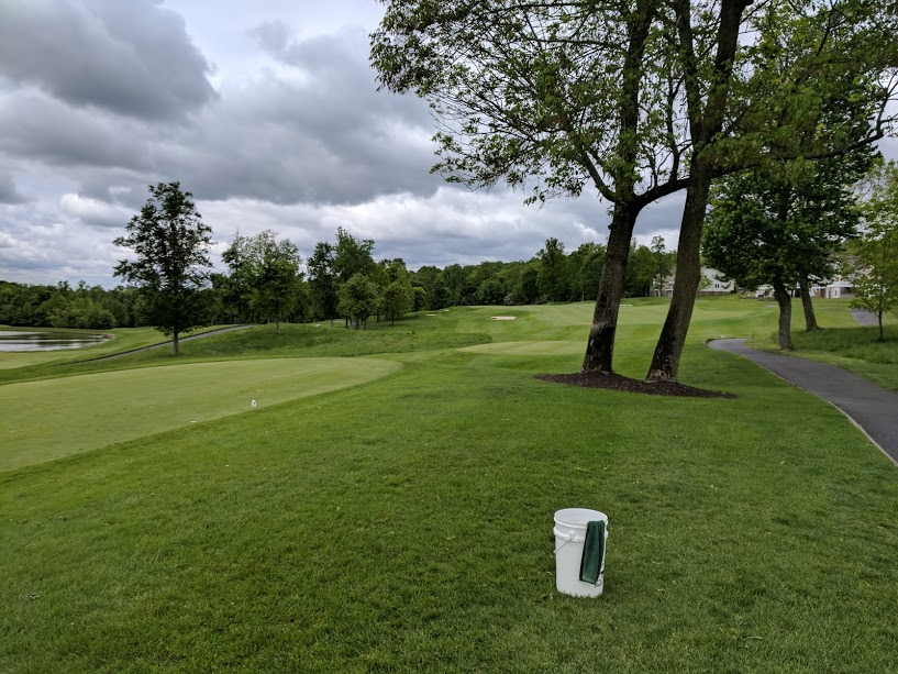 1st hole at Bulle Rock. Let the bludgeoning commence!
