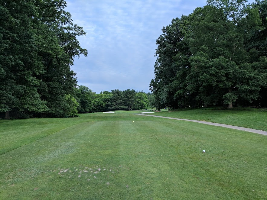3rd hole at Needwood. Pretty straightforward.