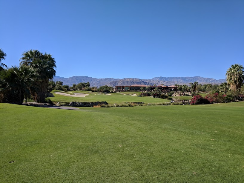 18th hole at Desert Willow. Fantastic finishing hole on a great course.
