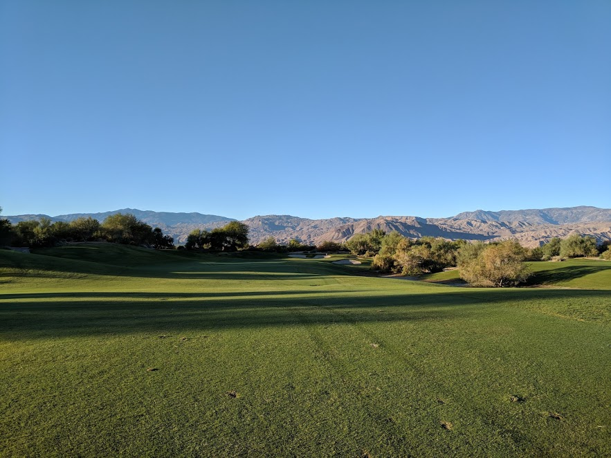 From the 2nd hole fairway at Desert Willow. I love this place.